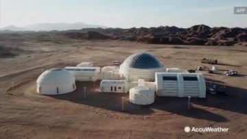 China's new Mars education base opens in desert