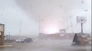 A close encounter with a tornado