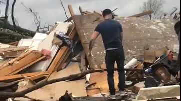 Search and rescue underway after devastating tornado