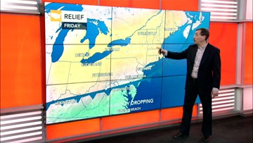 An early taste of Fall-like weather for the East this weekend