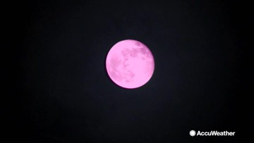 Catch the rise of the 'Pink Moon' on Friday