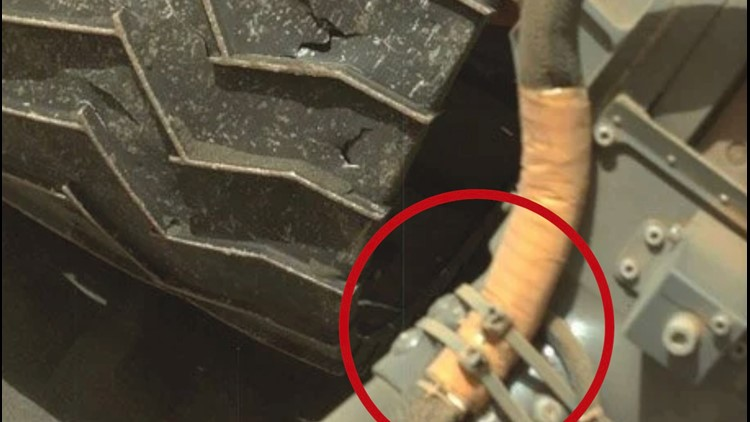 No, That Photo of Curiosity Rover Isn't Fake, NASA Actually Uses Zip Ties On Mars Rovers