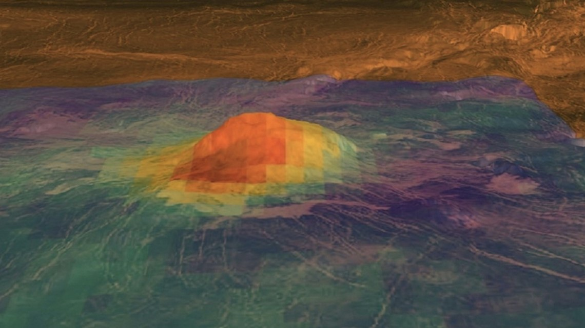 Venus May Have Active Volcanoes Cbs8 Com