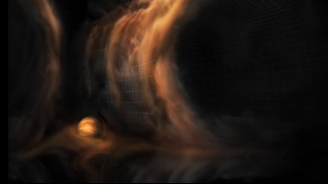 Baby Planets May Be Creating These Gas 'Waterfalls'