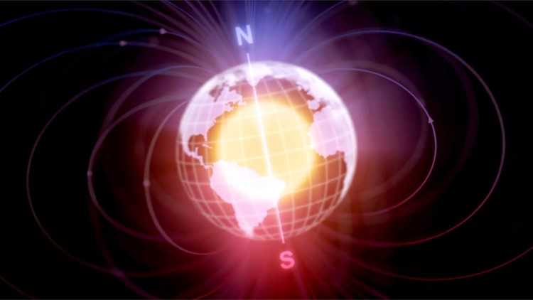 Earth Tipped Over When Its Magnetic Poles Wandered Millions of Years Ago