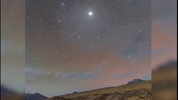 Rare Look at Jupiter's Halo Captured in Chilean Desert Sky