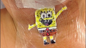 Pediatric Surgeon Makes Kids Smile With Custom Cartoon Bandages to Cover Their Scars
