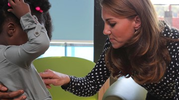 Duchess of Cambridge Surprises Young Mothers