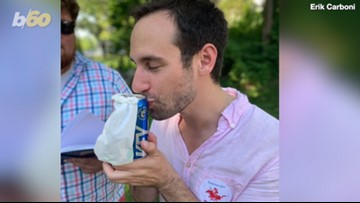 Man Marries a Can of Beer and Now Keystone Light is Sending the Happy Couple On a Honeymoon