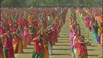 Cutting a Rug! Thousands Dance With Swords During World Record Attempt