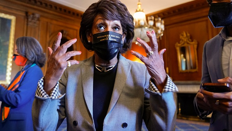 Maxine Waters' bold words echo civil rights, draw criticism