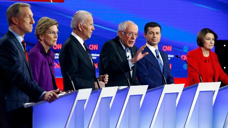 Seventh Democratic Debate 2020 January AP