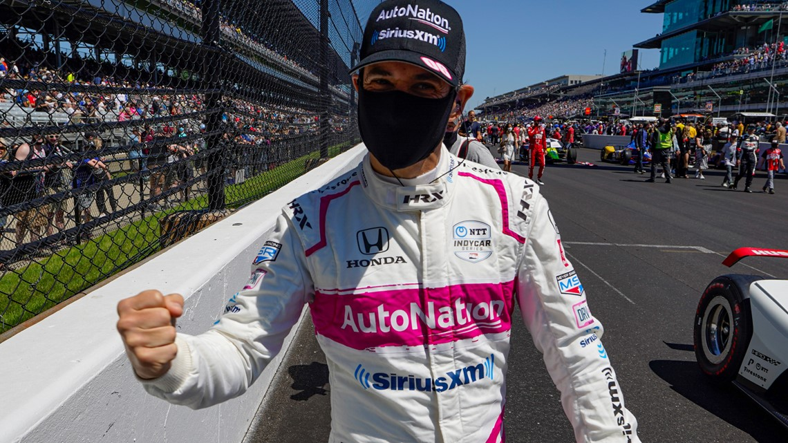 Helio Castroneves wins Indianapolis 500 for record-tying 4th time