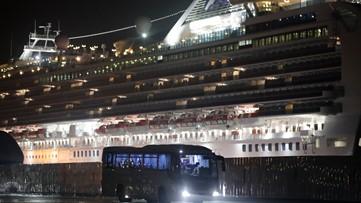Passengers begin to leave Diamond Princess cruise ship after virus quarantine