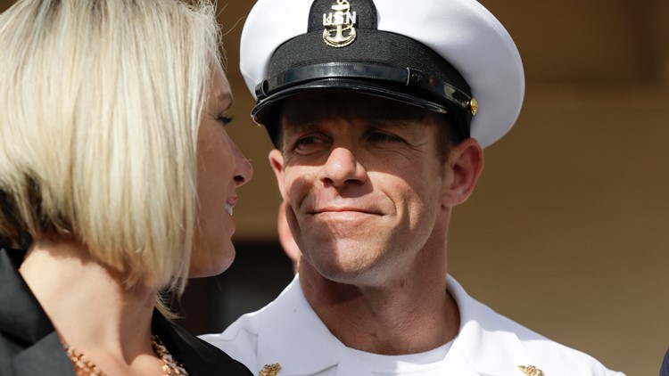 Navy Special Operations Chief Edward Gallagher AP