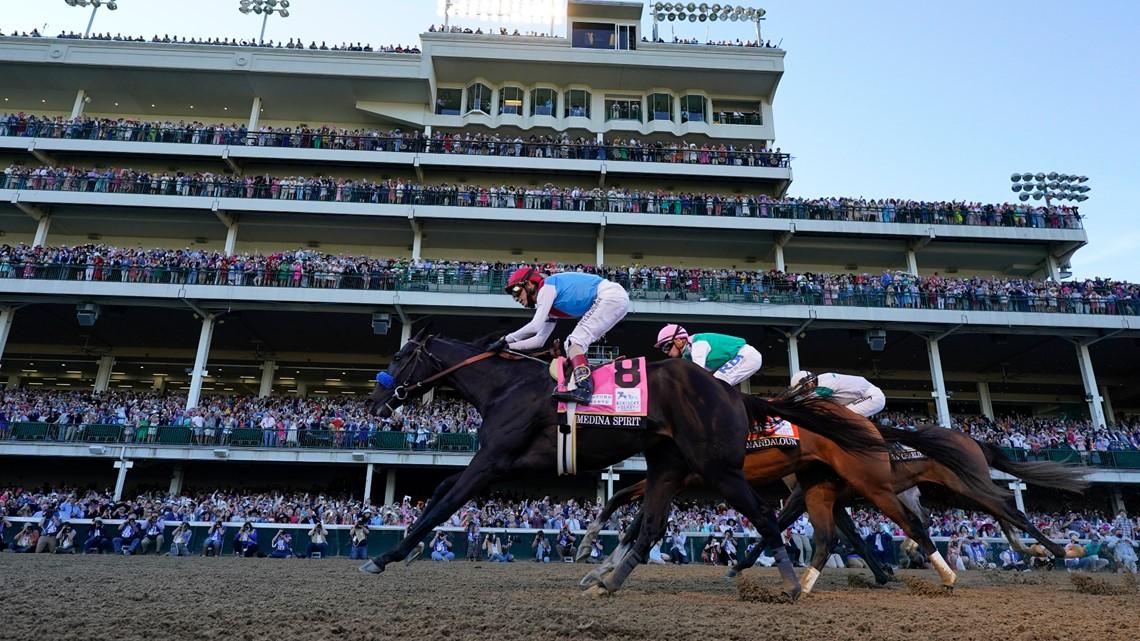 Medina Spirit could lose Kentucky Derby win; track bans Baffert after failed postrace drug test