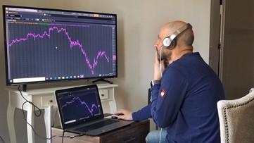 Wall Street jumps 7% as markets rally worldwide on virus hopes