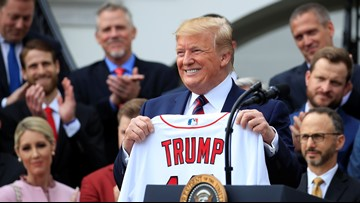 Trump notes Red Sox on win streak since visiting White House