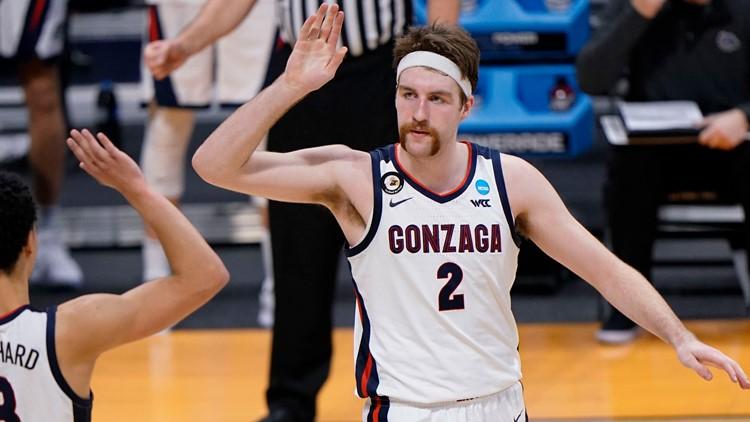 Gonzaga on cruise control in men's NCAA Tournament