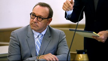Kevin Spacey's accuser says phone sought by defense is missing