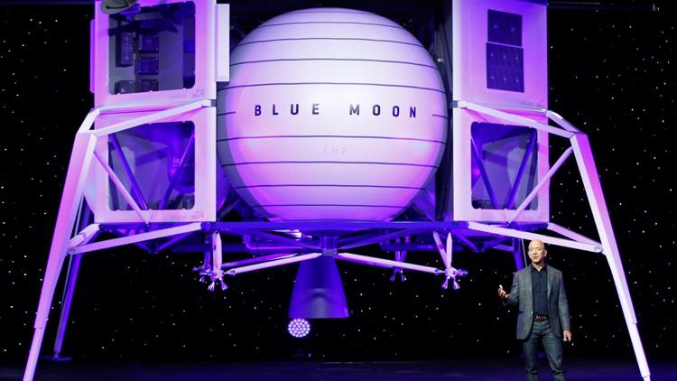 Bezos Blue Origin lunar lander