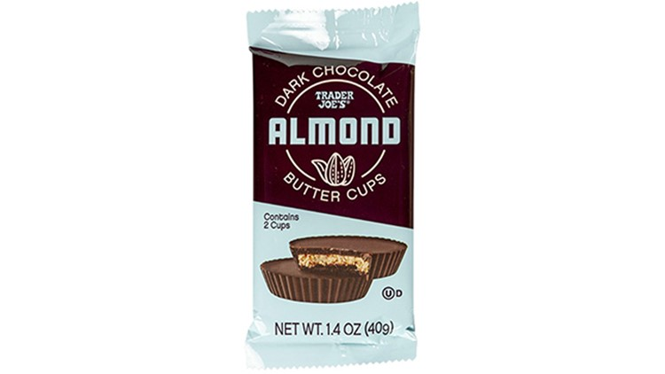 Trader Joe's recalls Dark Chocolate Almond Butter Cups
