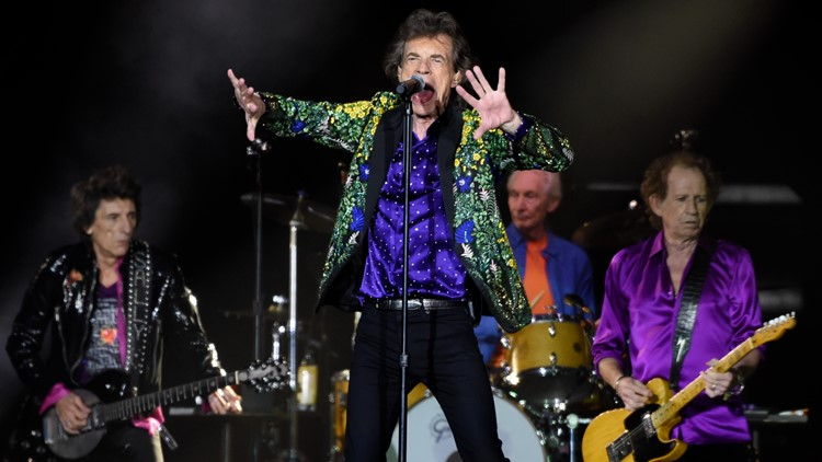 'We're back on the road!' Rolling Stones relaunch US tour
