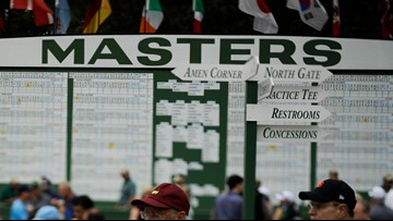 The Masters final-round will start earlier Sunday due to weather