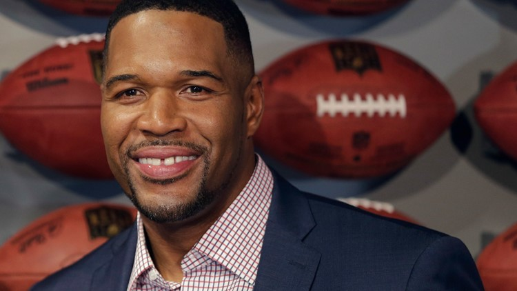 Michael Strahan removes signature tooth gap just before April Fools' Day