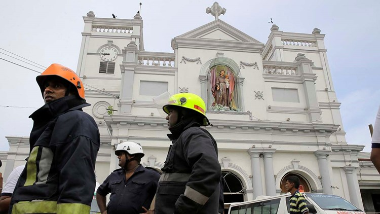 Explosions kill more than 200 in Sri Lanka on Easter Sunday
