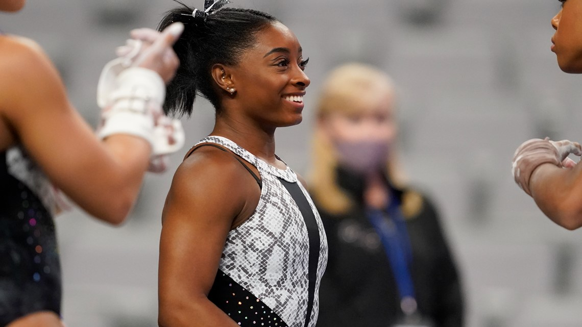 Seven for Simone: Biles claims another US Gymnastics title