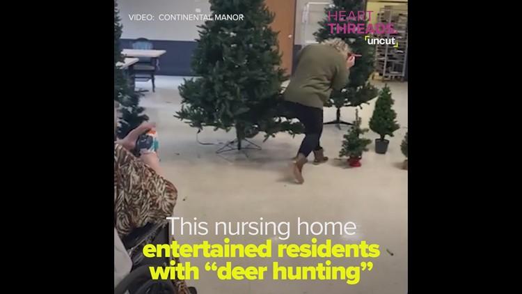 Nursing home goes 'deer hunting'