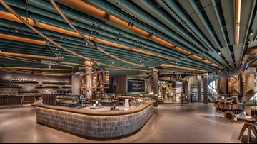 World's largest Starbucks now open in Chicago