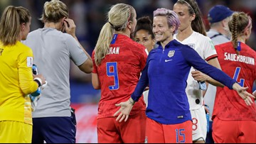 Megan Rapinoe expects to be ready for World Cup Final