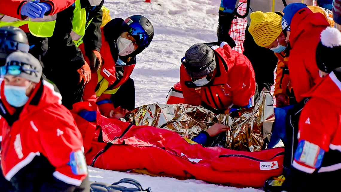 American skier Tommy Ford airlifted from course after crash