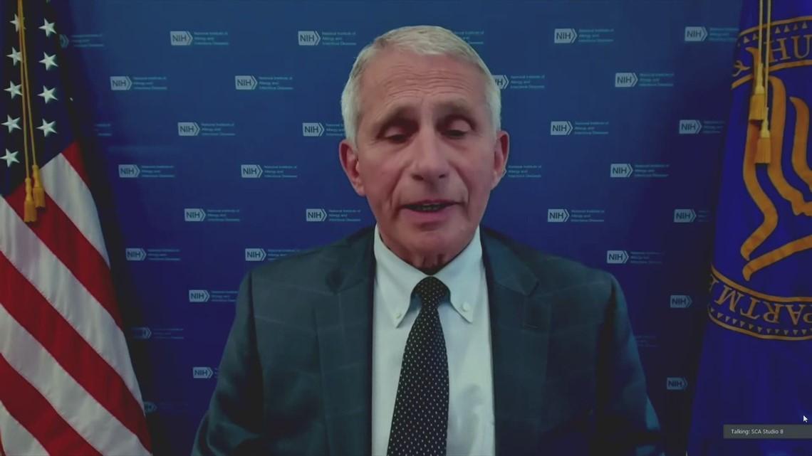 Dr. Fauci addresses delta COVID variant, vaccine efficiency