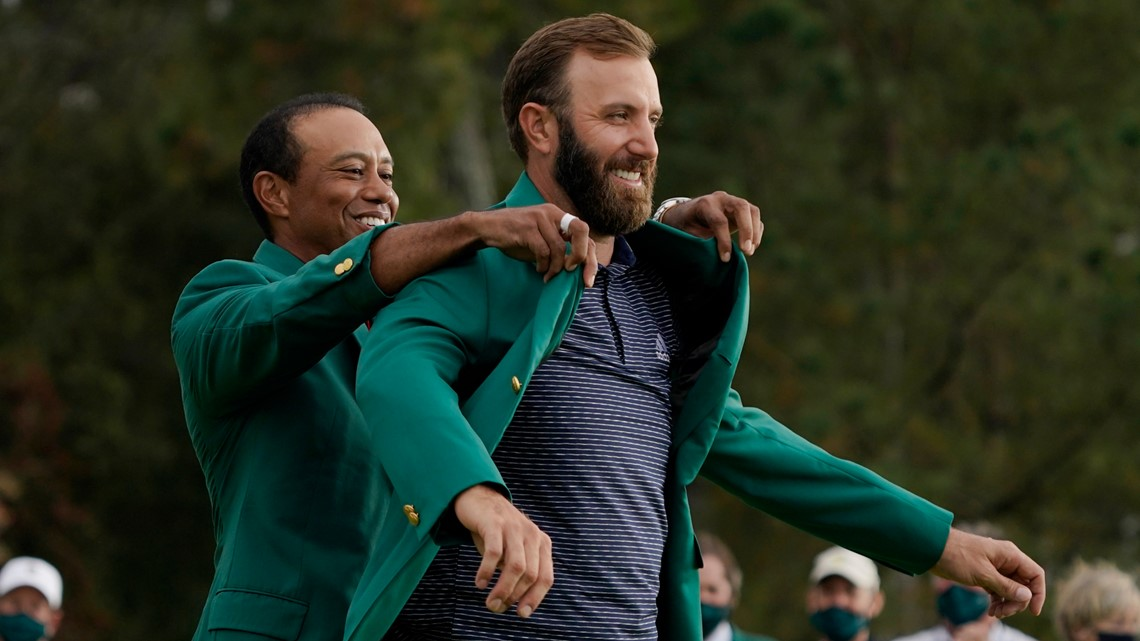Dustin Johnson buries some major memories, wins first Masters
