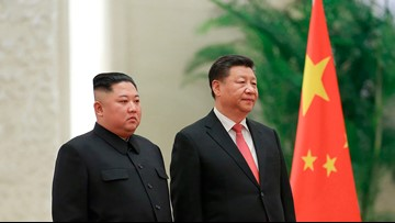 China's Xi heads for North Korea for talks with Kim Jong Un