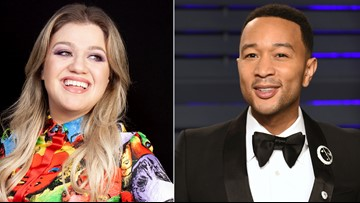 John Legend, Kelly Clarkson release 'Baby, It's Cold Outside' remake