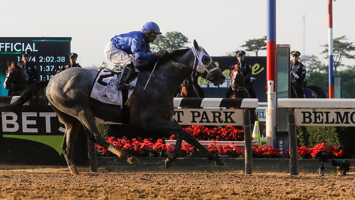 Essential Quality wins Belmont Stakes