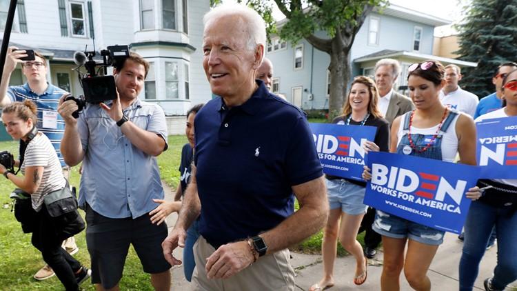 Election 2020 Joe Biden July 4