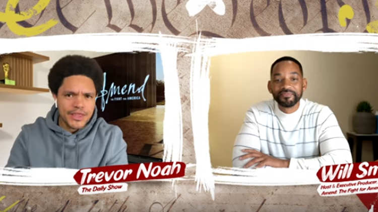Will Smith & Trevor Noah to Have In-Depth Discussion About 14th Amendment - Watch the Teaser
