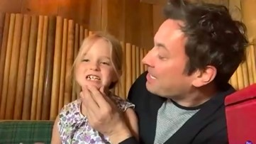 Jimmy Fallon's Daughter Winnie Interrupts His Interview to Share She Lost a Tooth: Watch!