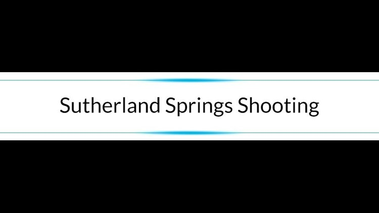Help Humanity - Section - Sutherland Springs Shooting