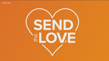 Send the love to businesses  across San Diego