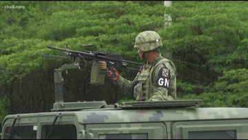 Mexico says it has sent nearly 15,000 troops to US border