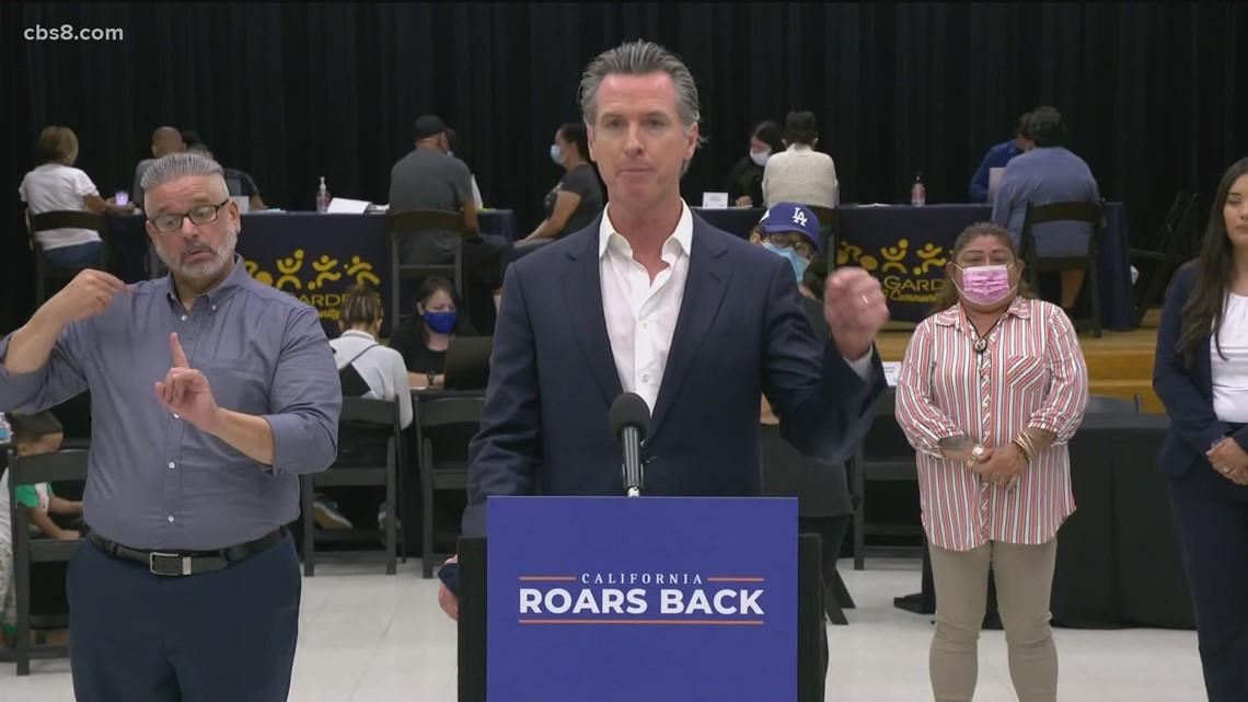 Gov. Gavin Newsom requests over $1B in rental assistance