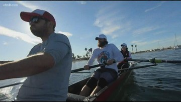 Groovin' with Garegnani: Rowing in Mission Bay
