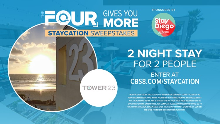 The FOUR Gives You More – Staycation Sweepstakes!