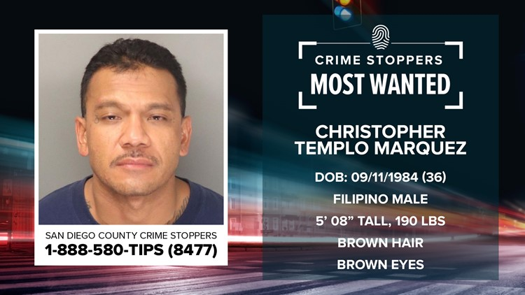 Crime Stoppers Most Wanted: Christopher Templo Marquez